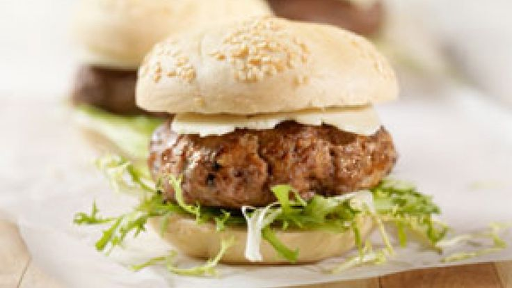 Meat is a great source of vitamin B12. Why not kick normal burgers up a notch by using bison meat? Bison is leaner than beef, and 3 ounces are only 150 calories. It also has less saturated fat and is richer in omega-3 fats than grass-fed beef. These sliders are delicious and the perfect portion...