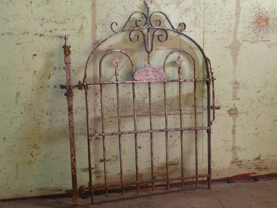 I Really Like Old Iron Gates In The Garden. Antique Iron Gate By  SpoonerSalvage On