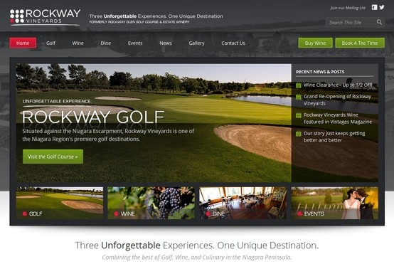 Designed & built by Extreme Technology, Rockway Vineyards combines the best of golf, wine, and culinary in the Niagara Peninsula.