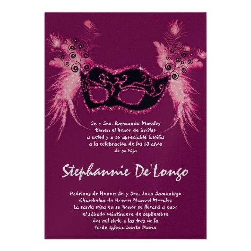17 best images about quinceanera invitations in spanish on