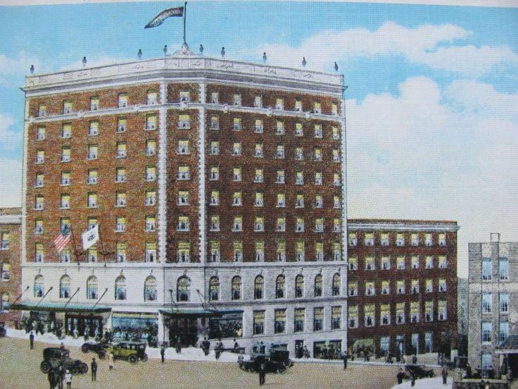 Danville Va Hotel Postcard 8 25 1938