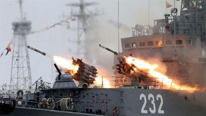 ¿Cómo ha podido la flota rusa eliminar el poder de la Armada de EE.UU. con un solo ataque?