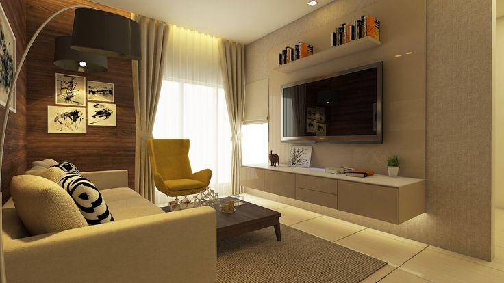 Living Room- Residence/ Sample Flat For Zara Habitats LLP