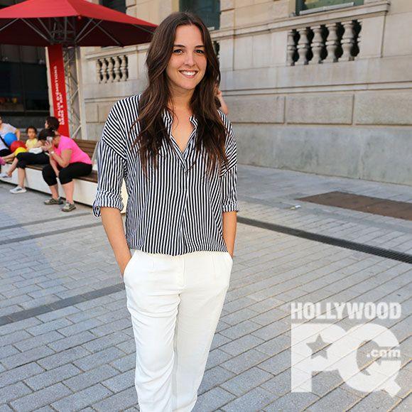 Sophie Pelletier de Star Académie est la vedette de la nouvelle campagne de Roots   HollywoodPQ.com