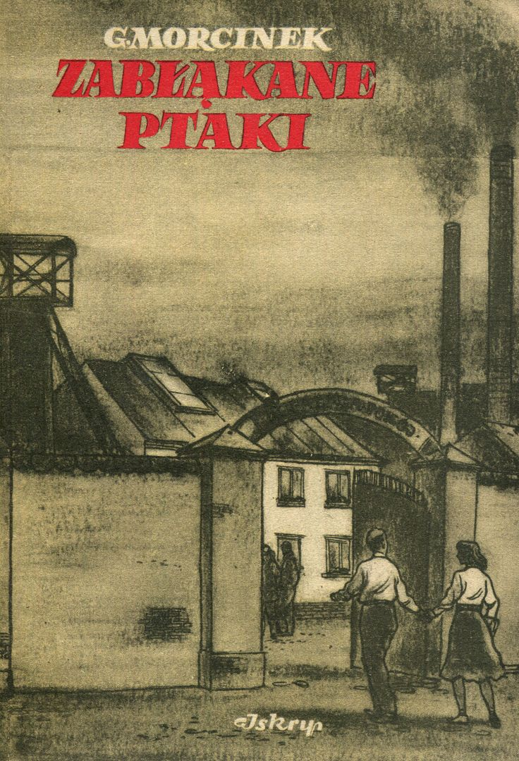 """""""Zabłąkane ptaki"""" Gustaw Morcinek Cover by Z. Rozwadowski Published by Wydawnictwo Iskry 1952"""