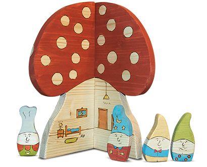 dwarf - wooden toys