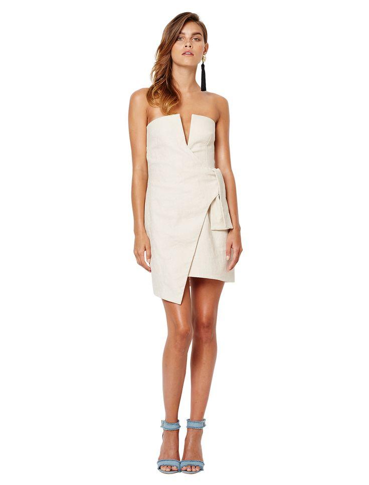 bec and bridge - Oleta Mini Dress - Natural