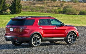 2015 Ford Explorer accessories