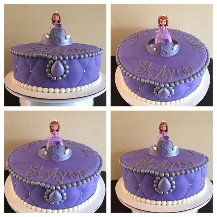 Sofia The First Cake Cakes Pinterest Sofia The First