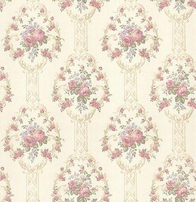 обои с цветочным узором CD001740 Chelsea Decor Wallpapers