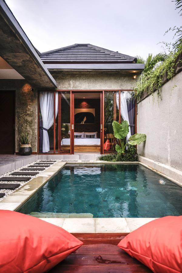 La Isla Villas Bali Canggu Indonesia Kolam Renang Halaman Belakang Kolam Renang Mewah Desain Kolam Kecil