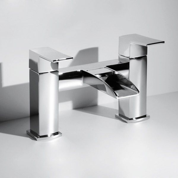 The Tabor™ waterfall bath filler is an extremely unique and cutting edge bath tap.  Manufactured to a sharp and crisp design and finished to the highest quality this bath filler would stand out in any bathroom. Also available in the Tabor™ ran
