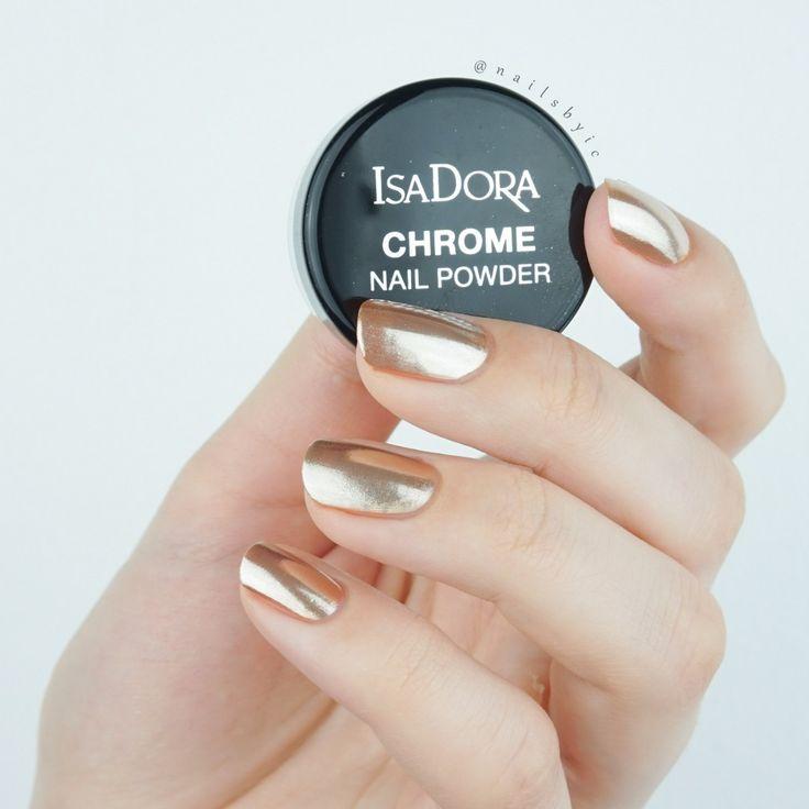 17 Best Ideas About Chrome Nail Powder On Pinterest