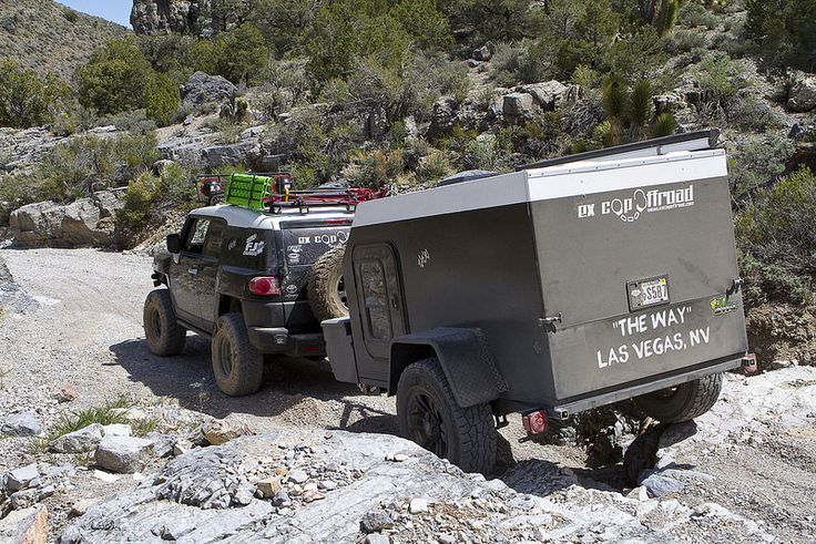 DIY Teardrop trailer from ExCop Off Road