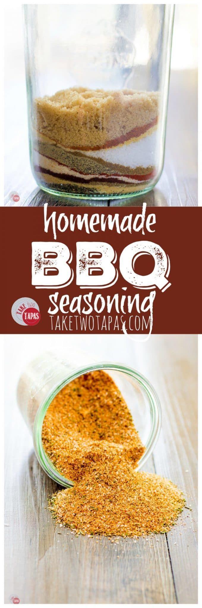 Homemade Rub BBQ Seasoning Mix | Take Two Tapas