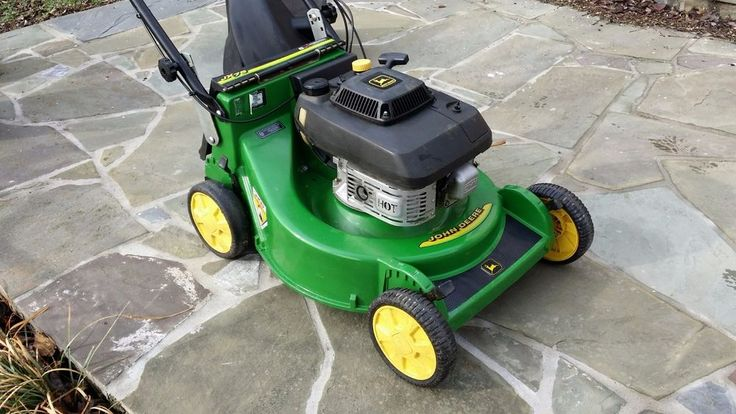 John Deere JX75 Cast Deck Self Propelled Blade Brake Clutch Walk Behind Mower #JohnDeere