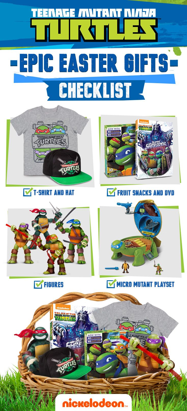 24 best toys for tmnt fans images on pinterest shop and save on shell tastic teenage mutant ninja turtles gifts for your easter basket negle Image collections