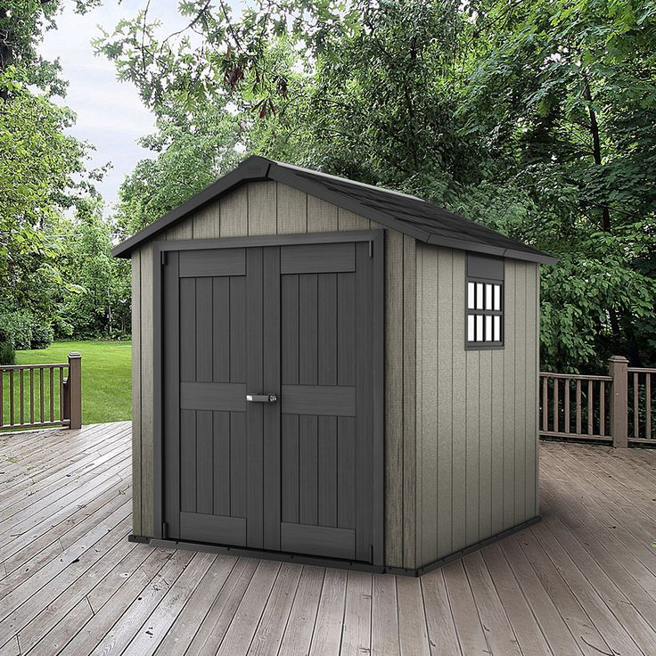 "Keter Oakland 7ft 6"" x 9ft 4"" (2.3 x 2.9m) Shed 