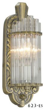 Art Deco Chandelier and Sconce Lighting Fixtures midcentury-wall-sconces