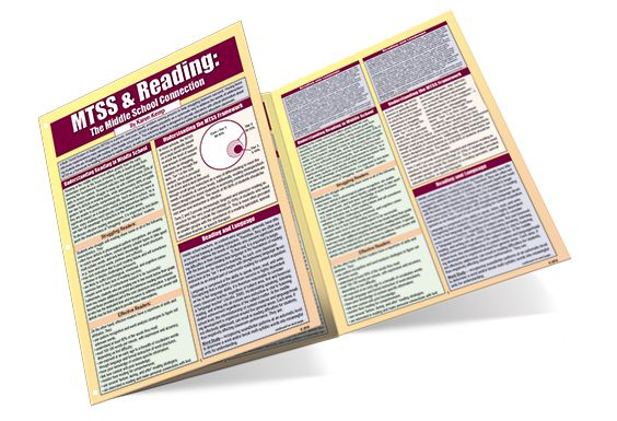 This reference guide is designed to provide educators with critical information about MTSS as a framework for reading instruction in middle school, and give teachers practical techniques to implement within the general education classroom.