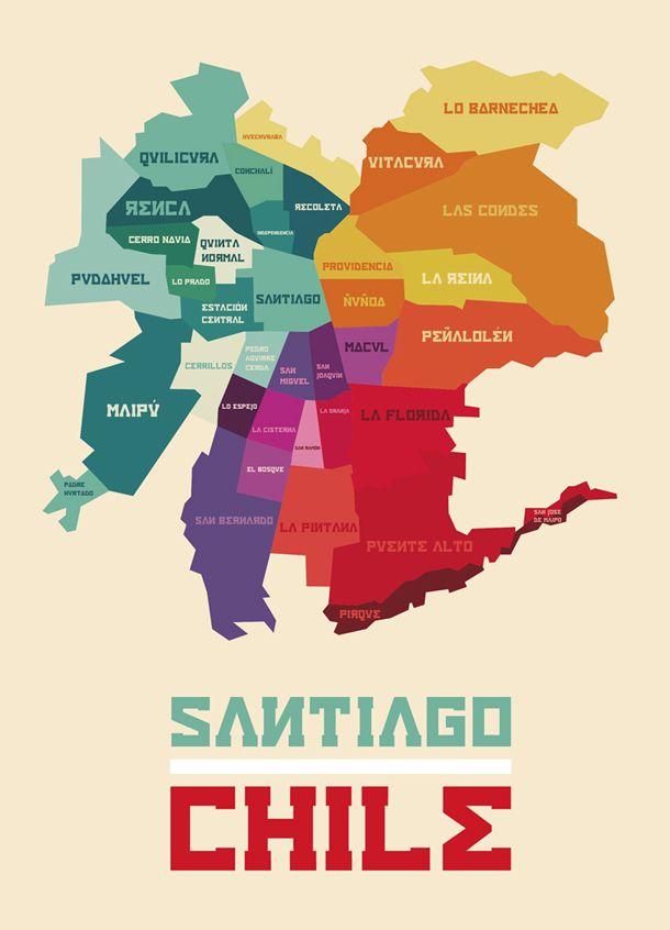 """Santiago de Chile"" by Gabriela Salgueiro Acevedo"
