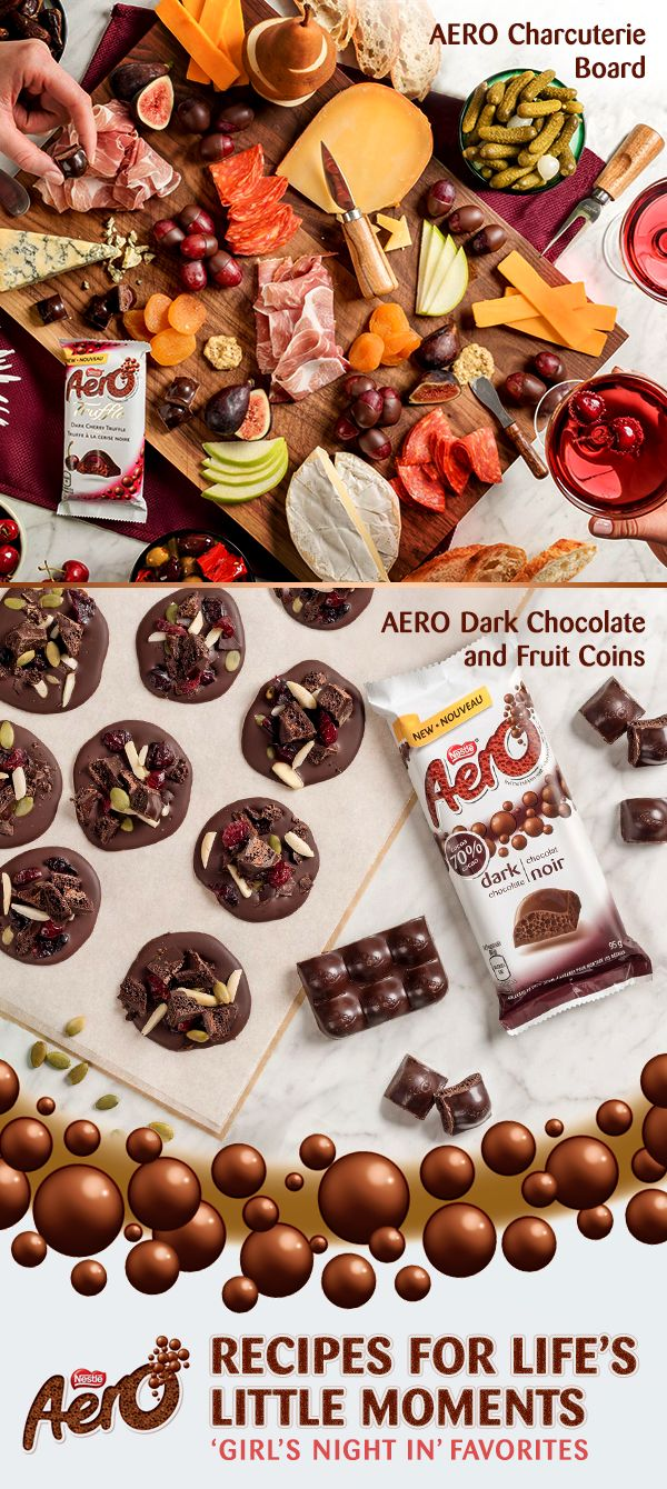 Planning something special for your next big night in? Impress your guests with these delicious AERO recipes — perfect as either an after-dinner snack or the main event. Click to discover the full recipes.