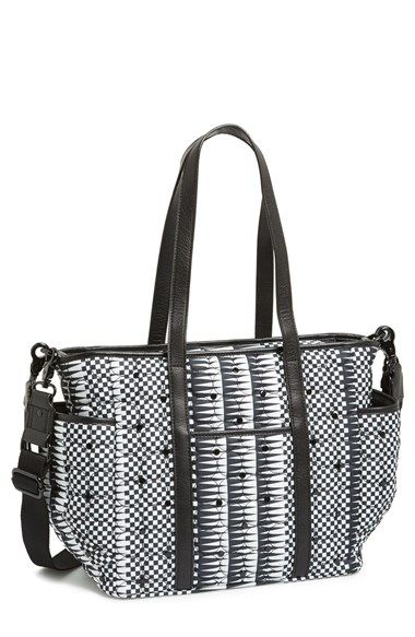 Rebecca Minkoff 'Marisa' Checkerboard Print Baby Bag available at #Nordstrom