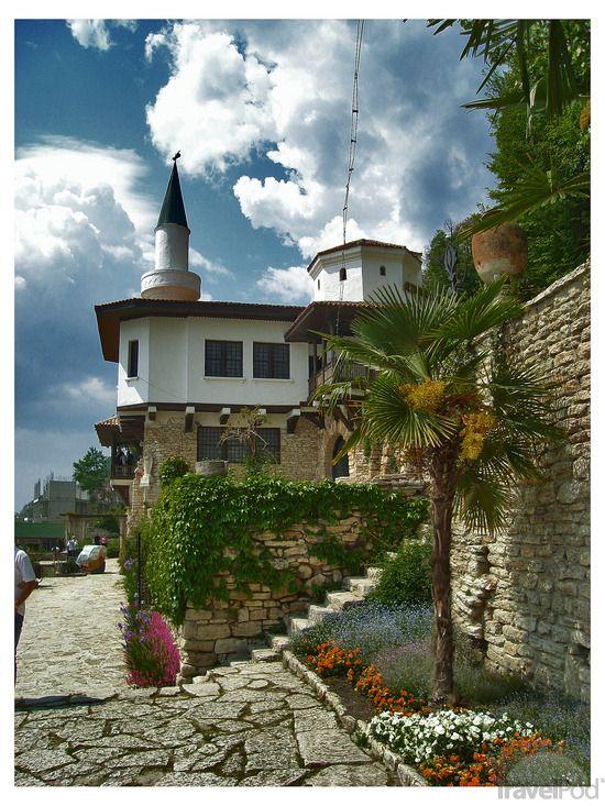 Balchik, Romanian Queen Marie's Summer  Palace, built on the Black sea Coast, Bulgaria -