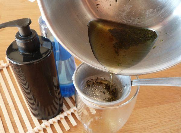 DIY : Shampoing maison au thym pour cheveux gras