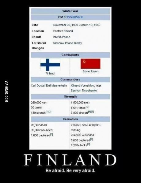 Finland real life 'this is Spartaa!!!'