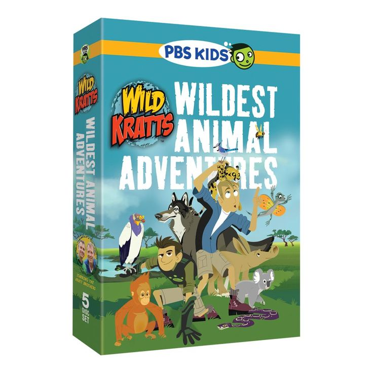 Wild Kratts DVD Set | National Geographic Store