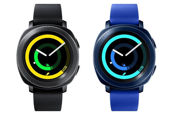 """Depois de ter anunciado o seu mais novo concorrente dos iPhones, a Samsung revelou agora mais três produtos que também entrarão na competição com alguns da Apple. Confira a seguir: Gear Sport O Gear Sport é focado em atividades físicas, tem uma tela circular Super AMOLED de 1,2 polegada, 360x360 pixels e 302ppp. Sua pulseira mede 20mm e, apesar de ser o smartwatch mais fino da empresa, ela afirma que ele tem uma """"durabilidade à nível militar"""". O relógio vem somente em duas cores: pr..."""