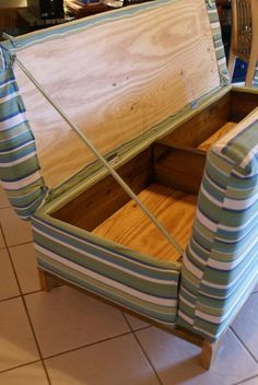 You can make a sofa with storage!!! -  To connect with us, and our community of people from Australia and around the world, learning how to live large in small places, visit us at www.Facebook.com/TinyHousesAustralia or at www.TinyHousesAustralia.com