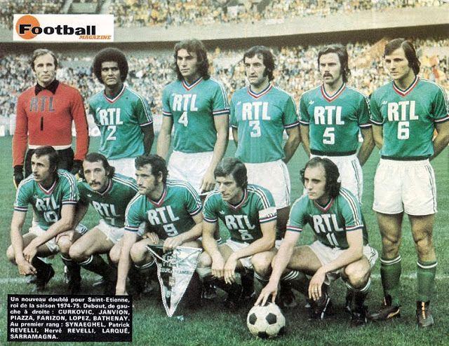 A.S SAINT-ETIENNE 1975. (Finale Coupe de France).