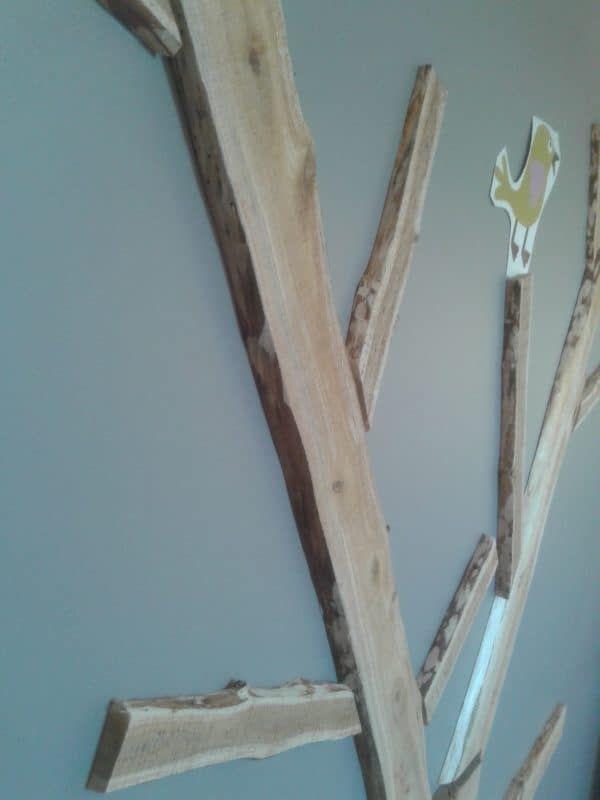 Dekoration Arbre Pour Chambre Bébé Fille / Baum Wanddekoration für My Daughter Schlafzimmer