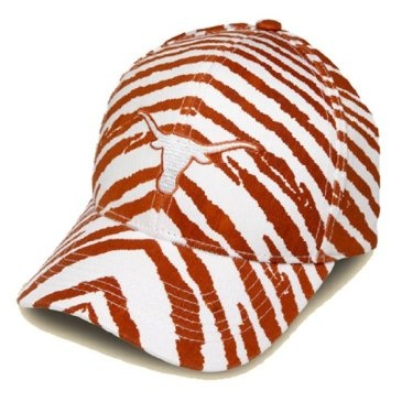 Striped Texas Longhorns Hat - Top off your favorite game day outfit with a vibrant and eye-catching new hat!
