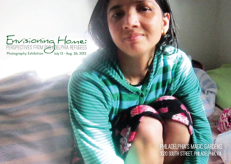 Envisioning Home: Perspectives From Philadelphia Refugees is open until August 26! Stop in to see this wonderful exhibition of photographs taken by Burmese, Bhutanese, and Iraqi refugees featured alongside our glittering mosaicked garden!Refugee Features, Features Alongsid, Auguste 26, Mosaick Gardens, Glitter Mosaick, Wonder Exhibitions, Iraqi Refugee, Philadelphia Refugee