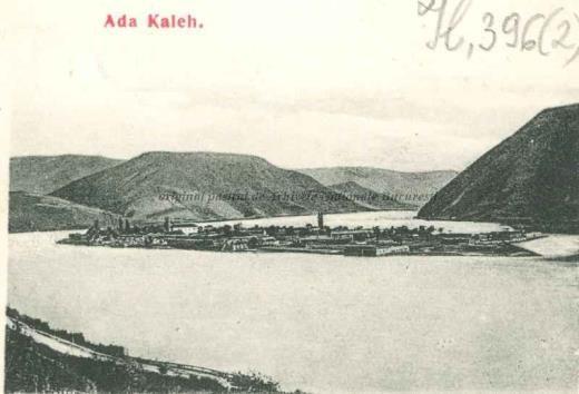 BU-F-01073-5-00396-02 Insula Ada Kaleh (insulă pe Dunăre, acoperită în 1970 de apele lacului de acumulare al hidrocentralei Porțile de Fier I), 1905-1919 (niv.Document)