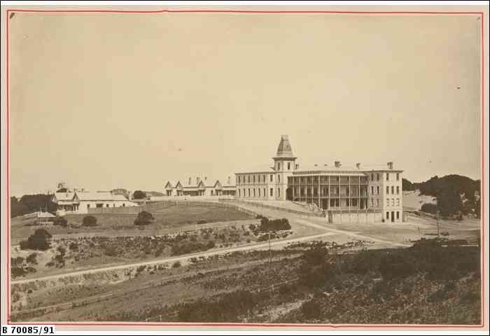 Continental Hotel, Sorrento 1880