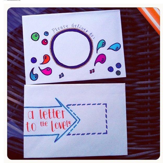 Decorative envelopes (for pen pals)                                                                                                                                                                                 More