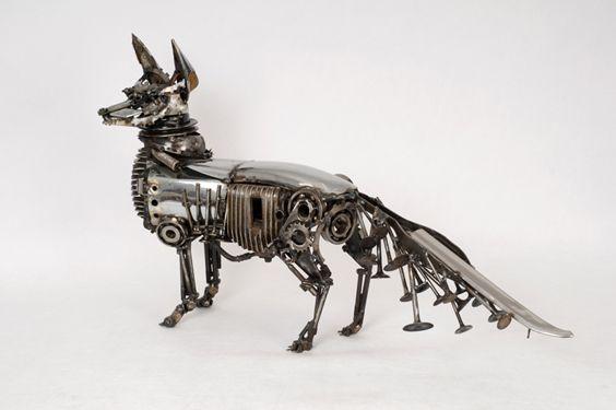 Steampunk Animal Sculptures « e-MORFES