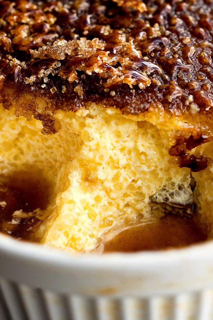 This pudding offers you both the satisfying crack of using your spoon to break through a brûlée topping and the sensation of dipping that spoon into fluffy pudding Tapioca generally isn't baked, but it is easier than cooking it on top of the stove And once the pudding is in the oven you can leave it alone, as opposed to the stovetop method, which requires frequent stirring to prevent scorching