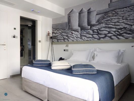 Milos Suite at #Elakati Click to view our offers http://www.elakati.com/special-offer #Rhodes #Greece