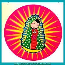 Resultado de imagen para imagenes de la virgen de guadalupe en caricaturas