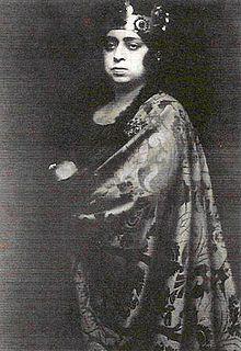 Magda Spiegel – war eine deutsche Opernsängerin ( Altistin ).