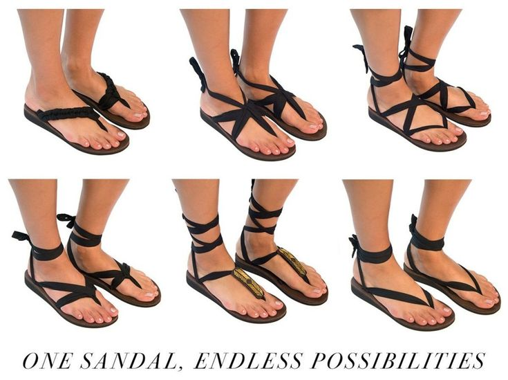 Sseko Ribbon Sandals - Lots of ribbon colors and accents