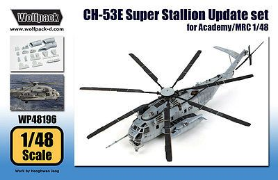 Airplanes 50297: Wolfpack 1:48 Ch-53E Super Stallion Update Set For Academy Mrc - Resin #Wp48196 -> BUY IT NOW ONLY: $39.95 on eBay!