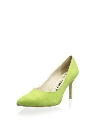 71% OFF olsenHaus Women's Ninja Ankle Strap Pump (Lime)