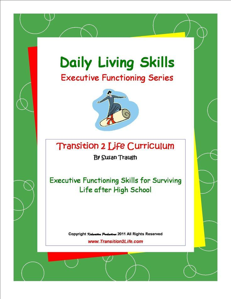 Surviving Life After High School - Daily Living Skills Series by Susan Traugh