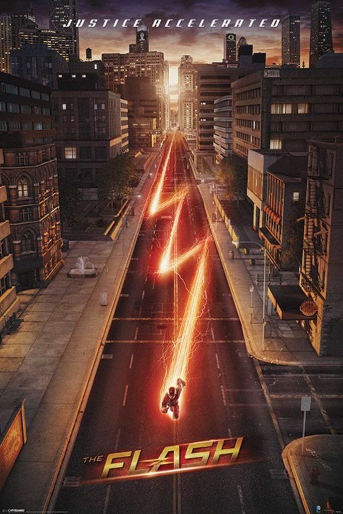 The Flash - Lightning - Official Poster. Official Merchandise. Size: 61cm x…